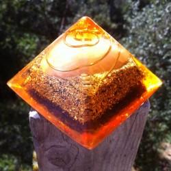 Pirámide 2º chakra naranja
