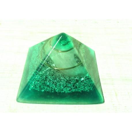 Pirámide 4chakra verde